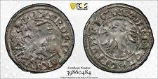 Lithuania Alexander 1/2 groschen ND (1495-1506) PCGS AU50