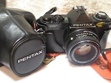 Pentax MV Film Camera & SMC Pentax 50mm F2 Lens - Excellent Working Condition