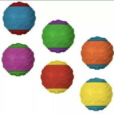 10 X Scooby Doo Durable Squeaky Dog Ball Toys - UK SELLER