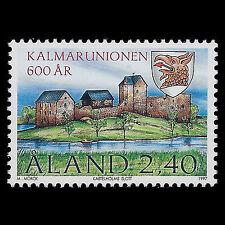 Aland 1997 - 600th Anniv of the Kalmar Union Architecture Town - Sc 136 MNH