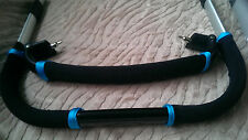 CUSTOM MADE BUMPER BAR & HANDLE BAR COVERS  to fit iCandy PEAR APPLE QUINNY BUZZ