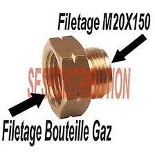 Raccord GAZ filetage Femelle bouteille Male 20 x150