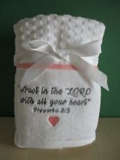 """Proverbs 3.5 """"Trust In The Lord """" Christian Faith Blessings Hand Towels"""