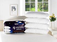 8 Pack medio de lujo relleno de fibra súper hinchable rebote atrás mejor sueños Almohadas
