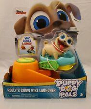 Puppy Dog Pals Rollys Snow BikeLauncher - Pals On A Mission! Disney Junior New
