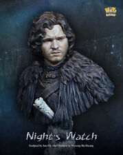Nuts Planet, Night's Watch, 1/10th scale unpainted resin bust kit NIB NP-B001