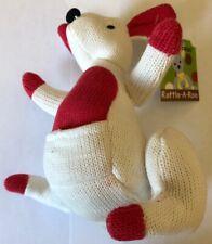 White Kangaroo Rattle Brand New
