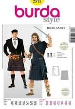Schnittmuster Burda 2515 Cosplay Braveheart, Outlander Gr. 46-58
