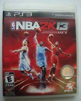 NBA 2K13 2013 PS3 SONY PLAYSTATION 3