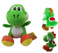 "Super Mario Bros 7"" Green Yoshi Plush Toy Kids Soft Toy Doll Birthday  new"
