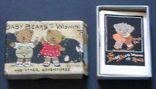 1920 Grace Drayton THE BABY BEARS 12 miniature book set