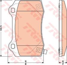 TRW Bremsbeläge Bremsklötze CHEVROLET Camaro 6.2 CHRYSLER 300 C 3.0 V6 CRD