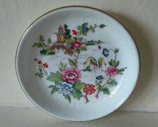 Small Plate - Fine Bone China by CROWN. PAGODA Design