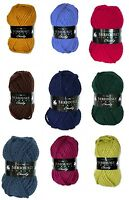 Cygnet Seriously Chunky Ranges Super Chunky Acrylic Knitting Yarn 100g