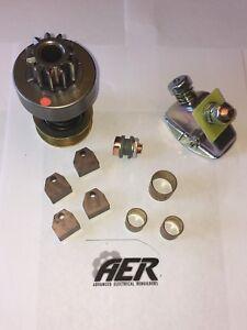 John Deere 60 620 Delco Starter Repair Rebuild Kit Brushes Bushings Drive Switch