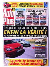 AUTO PLUS du 13/07/2004; comparatif grand volume, petits prix/ Enquête qualité