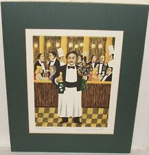 "GUY BUFFET ""MONSIEUR HENRI"" LIMITED SIGNED LITHOGRAPH"