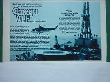 5/1982 PUB LITTON AERO PRODUCTS OMEGA VLF NORTH SEA OIL HELICOPTER FRENCH AD