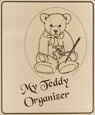 My Teddy Bear Collection Organizer 3 RING BINDER w/ INVENTORY PGS & STORAGE PKTS
