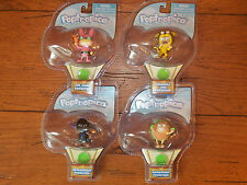 Poptropica COMPLETE 4-Lot Pocketeers Dr. Hare Lion Astroknight Hamburger **NEW**