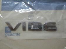 2009-2010 PONTIAC VIBE LIFT GATE TAIL GATE VIBE EMBLEM 88975698