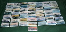 MODERN NAVAL CRAFT FULL SET OF 50 PLAYERS CARDS