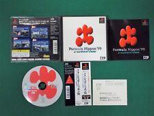 PlayStation -- Formula Nippon '99 -- PS1. JAPAN GAME. works fully. 25781