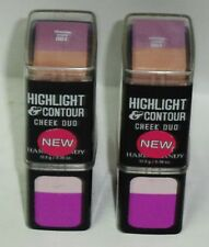 2 New HARD CANDY Cheeks & Balances Highlight & Contour Cheek Duo BLOOMING ORCHID