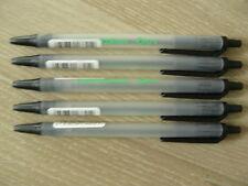 Stylo bille BIC rétractable Ecolution Clic Stic lot de 5 - Noir