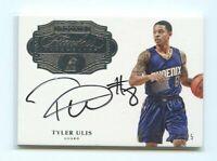 2016-17 Panini Flawless Auto #TU Tyler Ulis Suns Rookie On Card Autograph /25