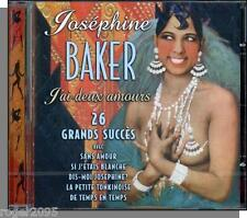 Josephine Baker - J'ai Deux Amours - New 2001, 26 Track Import CD!