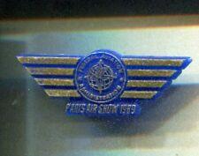 RARE PINS PIN'S .. AVION PLANE AIRLINES FAA FEDERAL PARIS AIR SHOW 1989 PVC ~CW