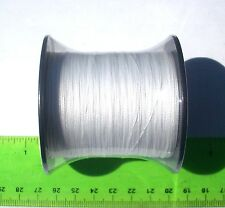 330yds (300m) SUPERLINE 60lb test WHITE Braid Fishing Line,Durable & Strong,