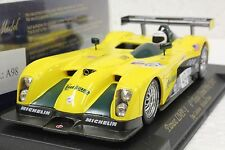 FLY A98 PANOZ LMP1 TEXAS GRAND PRIX 2001 NEW 1/32 SLOT CAR IN DISPLAY CASE
