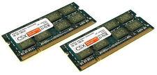 2x 2gb 4gb RAM toshiba satellite pro a200 a210 de memoria ddr2 pc2-5300 667mhz