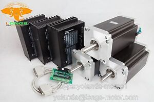 【Free ship US】3Axis Nema 42 Stepper Motor 4120oz-in 8A&Driver CNC Router&Mill