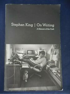 """Stephen King """"ON WRITING  A Memoir to the Craft""""  Paperback"""