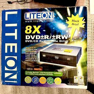 NEW  LiteOn 8X DVD/CD Rewritable Drive Internal 98se/me/2000/xp