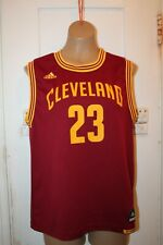 Adidas Cleveland Cavaliers Nba Basketball Lebron James #23 Youth Large Jersey