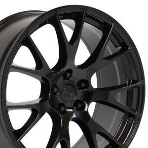 "OEW 20"" 2528 Gloss Black Wheel Fits Dodge Charger Challenger- Hellcat DG15 20x9"
