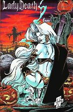 Untold Tales of Lady Death No. 1 Premium Glow in the Dark Edition Limited