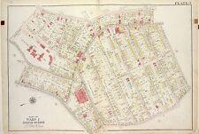 1917 RICHMOND, TOMPKINSVILLE, N.Y., STATEN ISLAND HOSPITAL, COPY PLAT ATLAS MAP