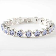 Touchstone Crystal ice bracelet Nib Oprah's favorite things Provence Lavender