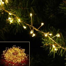 5M 600 LED Outdoor Fairy String Light Cluster Xmas Christmas Wedding Party Decor