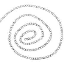 2 M Chaîne Acier inoxydable Pour Collier Création Bijoux Accessoire 4x3mm