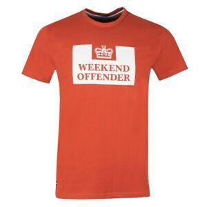 Weekend Offender Prison T-Shirt Cinnamon