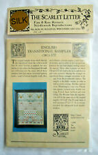 The Scarlet Letter English Transitional Sampler Linen and Silk Embroidery Kit