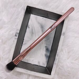 IT Cosmetics Rose Gold limited edition 103 concealer / eyeshadow brush *new