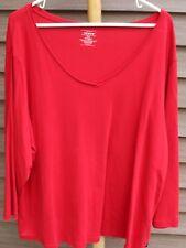 Woman's Red Shirt by Venezia; Size:  22/24