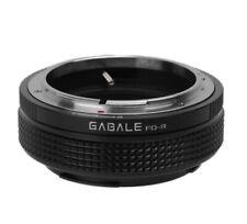Fd-Rf Gabale Objective Adapter Canon Fd Lens to Canon Eos R Camera Eosr RF